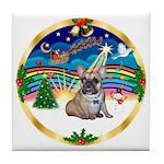 XmasMusic 3/Fr Bulldog 16 Tile Coaster
