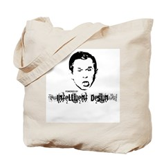 Powered By Intelligent Design Tote Bag