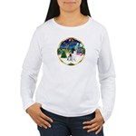 XmasMusic 3/Eng Springer 8 Women's Long Sleeve T-S