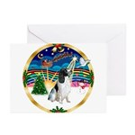 XmasMusic 3/Eng Springer 8 Greeting Cards (Pk/10)