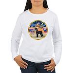 XmasStar/Schnauzer G Women's Long Sleeve T-Shirt