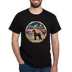 XmasStar/Schnauzer G Dark T-Shirt