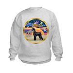 XmasStar/Schnauzer G Kids Sweatshirt