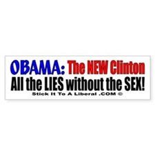 Obama: The NEW Clinton Lies and No SEX