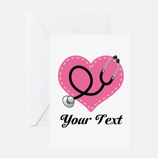 Personalized Nurse Doctor Gift Greeting Cards