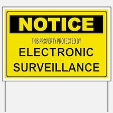 WARNING SURVEILLANCE CAMERA Yard Sign