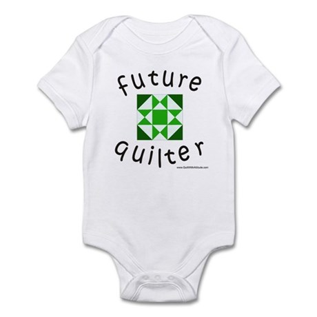 future-quilter-black-green Body Suit