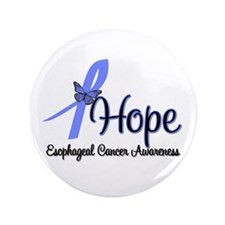 """Esophageal Cancer 3.5"""" Button"""