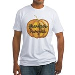 Grandpa's Pumpkin Fitted T-Shirt