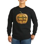Grandpa's Pumpkin Long Sleeve Dark T-Shirt