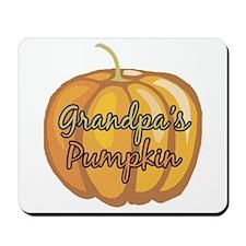 Grandpa's Pumpkin Mousepad