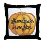 Grandpa's Pumpkin Throw Pillow