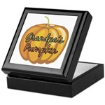 Grandpa's Pumpkin Keepsake Box