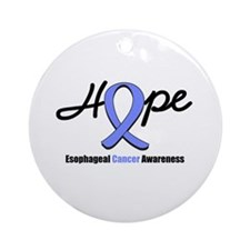 Esophageal Cancer Ornament (Round)