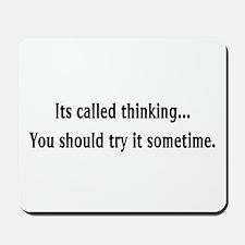 Thinking Mousepad