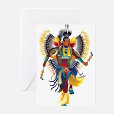 Native Dancer Greeting Cards (Pk of 10)