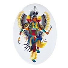 Native Dancer Keepsake (Oval)