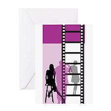 Hollywood Movie Maker Greeting Card