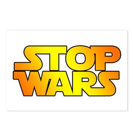 STOP WARS v2 Postcards (Package of 8)