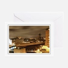 USS Wisconsin Greeting Cards (Pk of 10)