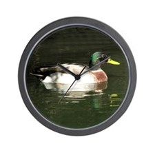 Mallard Duck - Wall Clock