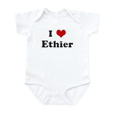I Love Ethier Infant Bodysuit