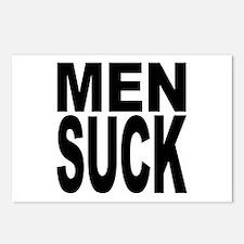 Men Suck Postcards (Package of 8)