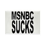 MSNBC Sucks Rectangle Magnet