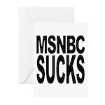 MSNBC Sucks Greeting Cards (Pk of 10)