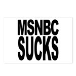 MSNBC Sucks Postcards (Package of 8)