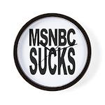 MSNBC Sucks Wall Clock