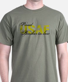 Proud Brother-in-law - USAF T-Shirt