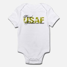 Proud Brother-in-law - USAF Infant Bodysuit