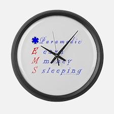 Paramedic EMS Large Wall Clock
