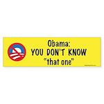 tThat One Bumper Sticker (50 pk)