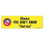tThat One Bumper Sticker (10 pk)