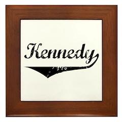 Kennedy Framed Tile