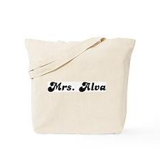 Mrs. Alva Tote Bag