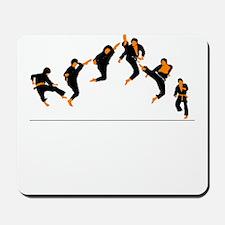 Subtle Jump Kick Mousepad