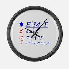 EMT EMS Large Wall Clock
