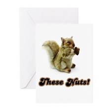 These Nuts! Greeting Cards (Pk of 10)