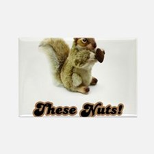 These Nuts! Rectangle Magnet (100 pack)