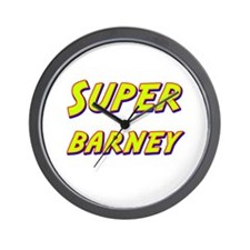 Super barney Wall Clock