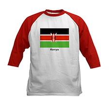 Kenya Kenyan Flag (Front) Tee