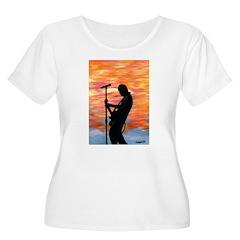 Rock Guitarist at Sunset T-Shirt