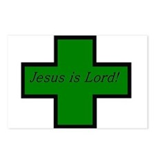 Jesus is Lord (Jade) Postcards (Package of 8)
