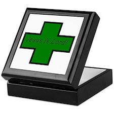 Jesus is Lord (Jade) Keepsake Box