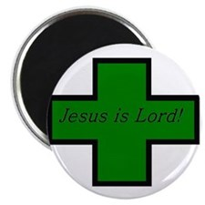 "Jesus is Lord (Jade) 2.25"" Magnet (10 pack)"