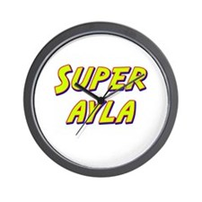 Super ayla Wall Clock