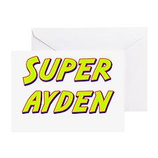 Super ayden Greeting Card